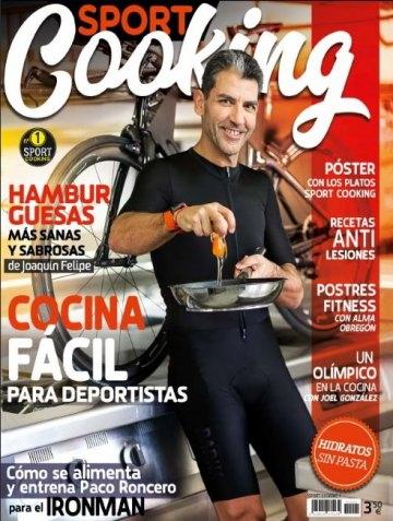 Nace Sport Cooking la revista de alimentación para deportistas